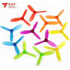 4 pairs DYS 3045 3 Inch 3 Blade Propeller Triblade Plastic Bullnose Prop