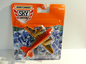 MATCHBOX SKY BUSTERS - ISLAND FREIGHT AIRLINER