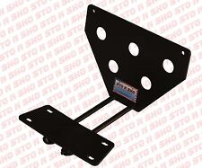 1987-1993 Mustang LX STO-N-SHO Removable Take Off Front License Plate Bracket