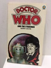 Dr Doctor Who & THE CYBERMEN by Gerry DAVIS Paperback Book TARGET 1979 FREE POST