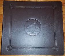 RCA VICTOR RECORD ALBUM (G) 10 PAGES WITH ALBUMS