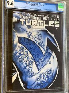 Teenage Mutant Ninja Turtles #2 CGC 9.6 oww Second Print TMNT