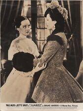 """BETTE DAVIS & GALE SONDERGAARD in """"Juarez"""" - Original Vintage Photo - 1939"""