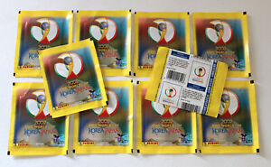 Panini World Cup Wc Korea Japan 2002 02–10 Bags Packets Bustine Sobres
