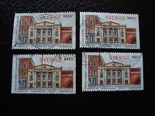 SUEDE - timbre yvert et tellier n° 2024 x4 obl (A29) stamp sweden (I)