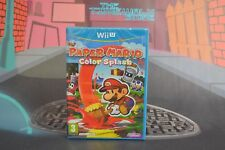 PAPER MARIO COLOR SPLASH SEALED WIIU WII U ENVÍO 24/48H COMBINED SHIPPING