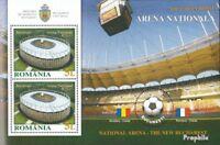 Rumänien Block513 (kompl.Ausg.) postfrisch 2011 Nationalarena Bukarest