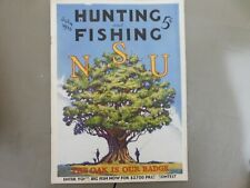 JULY 1935 HUNTING & FISHING MAGAZINE