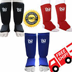 Shin Instep Pads MMA Boxing Leg Foot Guards Muay Thai Protector Kick Martial Art