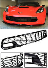 For 14-Up Corvette C7 No Camera Z06 Factory Carbon Flash Front Bumper Grille