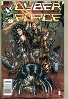Cyberforce #29-1996 nm- 9.2 Image Newsstand Variant Cover