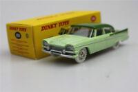 Atlas Dinky TOYS 1:43 Dodge Royal Sedan Alloy car  supercar Green die-casting