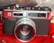 Vintage Yashica Electro 35 TELE WIDE  Finder Film Camera CASE EXTRA TELEPHOTO