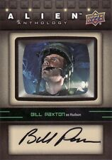 2016 Upper Deck UD Alien Anthology Bill Paxton as Hudson SA-BP Auto Card