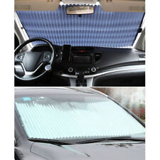 Retractable Large Sun Shade SUV Front Window Car Visor Windshield UV Block Cover