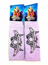2 pk Walt Disney Hannah Montana Hair Head Band Headband TV Miley Cyrus Guitar 1