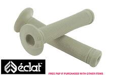 Eclat Ashley Charles firma Bmx apretones de manillar, elastómeros de goma gris
