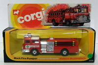 Corgi Diecast 2029 - Mack Fire Pumper - Red