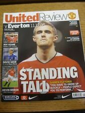 11/12/2005 Manchester United v Everton  . Thanks for viewing our item, if this i