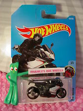 DUCATI 1199 PANIGALE #187✰black/gray motorcycle✰MOTO✰2017 i Hot Wheels case H/J