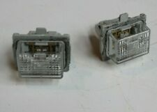 MERCEDES BENZ CLA C177 13-16 REAR NUMBER PLATE LED LIGHT 2PCS A2218200856
