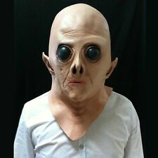 Silicone Face Mask Alien Party Horror Rubber Latex Full Masks For Party
