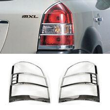 Chrome Rear Tail Light Lamp Cover 2p for 2005 2009 Hyundai Tucson
