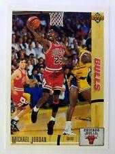 1991-92 Upper Deck Michael Jordan #44, MJ First UD Card, Chicago Bulls, HOF