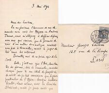 ✒ [Ambroise THOMAS & Mignon] L.A.S. Alfred BRUNEAU compositeur chef d'orchestre