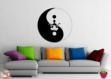 Wall Stickers Vinyl Decal Yin Yang Chinese Symbol Philosophy z1104