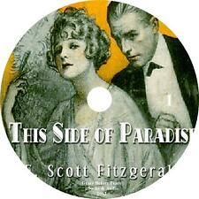 This Side of Paradise, Classic Audiobook by F. Scott Fitzgerald on 1 MP3 CD