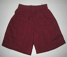 NEW school uniform shorts pants Maroon size 5 to 16