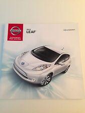 2014 Nissan Leaf 16-page Original Sales Brochure