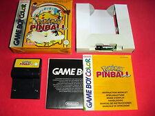 Game Boy Color Pokémon Pinball [PAL-EUR] Nintendo Super *JRF*