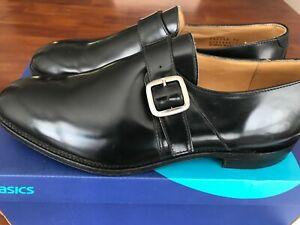 Charles Tyrwhitt Black Leathert  Loafers Men's ( USA11 )