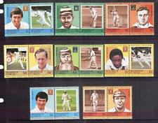 GRENADINES of ST VINCENT famous cricketers set MUH