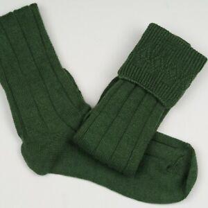 Deluxe Lovat Green Wool Mix Kilt Piper Cub Scouts Socks Child & Adult Sizes