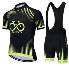 Men's cycling jersey bib shorts sets - Golden Times
