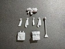 Warhammer 40k Space Marines Attack Bike Accessories / Bolter / Banner Pole Bits