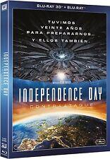INDEPENDENCE DAY CONTRAATAQUE BLU RAY 3D + BLU RAY NUEVO ( SIN ABRIR ) FOX