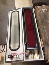 """Hoffman F1212T48Hc-Spl Wire Trough Hinged Cover 48"""" X 12"""" X 12"""", New #16810"""