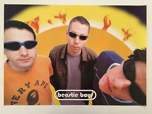 BEASTIE BOYS,RARE AUTHENTIC 1990's POSTER