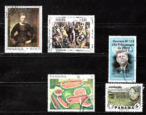 Panama .. A stamp collection .. 4328
