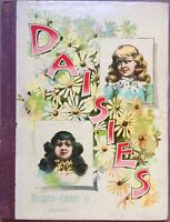 DAISIES ~ Antique 1890's Victorian Children's Story & Picture Book