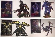 complete Complet Final Fantasy VII creatures weapons armes Color Couleur