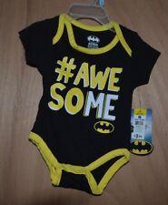 Baby Boys' Batman Bodysuit One Piece  0-3 Months NWT (6288)