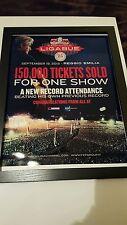 Luciano Ligabue Reggio Emilia Italy Rare Sold Out Concert Promo Poster!