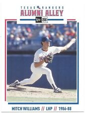 Texas Rangers New Era Alumni Alley Team Issued Postcard Mitch Williams SGA