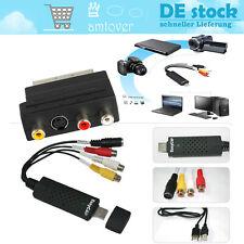 USB 2.0 EasyCAP  Audio Video Adapter Capture Grabber VHS-DVD TV  Konverter Karte