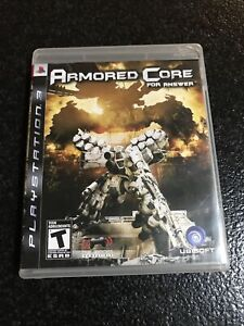 Armored Core: For Answer (Sony PlayStation 3, 2008) PS3